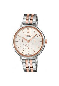 Kremowy zegarek Casio