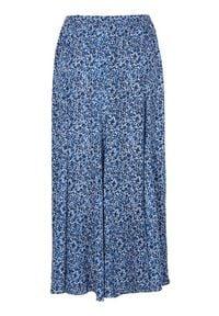 Cellbes Długa spódnica niebieski we wzory female niebieski/ze wzorem 34/36. Kolor: niebieski. Długość: długie