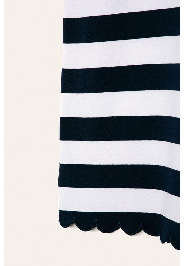 Niebieska sukienka Polo Ralph Lauren prosta, polo, na ramiączkach, na co dzień