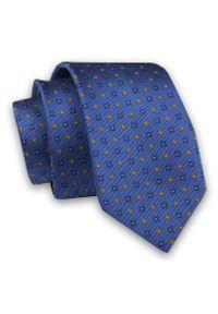 Krawat Angelo di Monti w kwiaty, elegancki