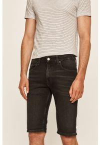 Czarne szorty Tommy Jeans casualowe, na co dzień
