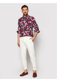 Koszula casual JOOP! Jeans w kolorowe wzory
