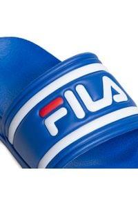 Fila - Klapki FILA - Morro Bay Slipper Jr. 1010934.20C Olympian Blue. Kolor: niebieski. Materiał: materiał. Styl: klasyczny