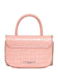 DeeZee - Torebka DEEZEE - RX5073 Pink. Kolor: różowy. Materiał: skórzane