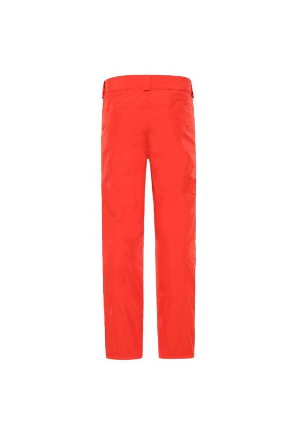 Pomarańczowe spodnie narciarskie The North Face
