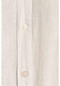 Biała koszula Strellson ze stójką, gładkie