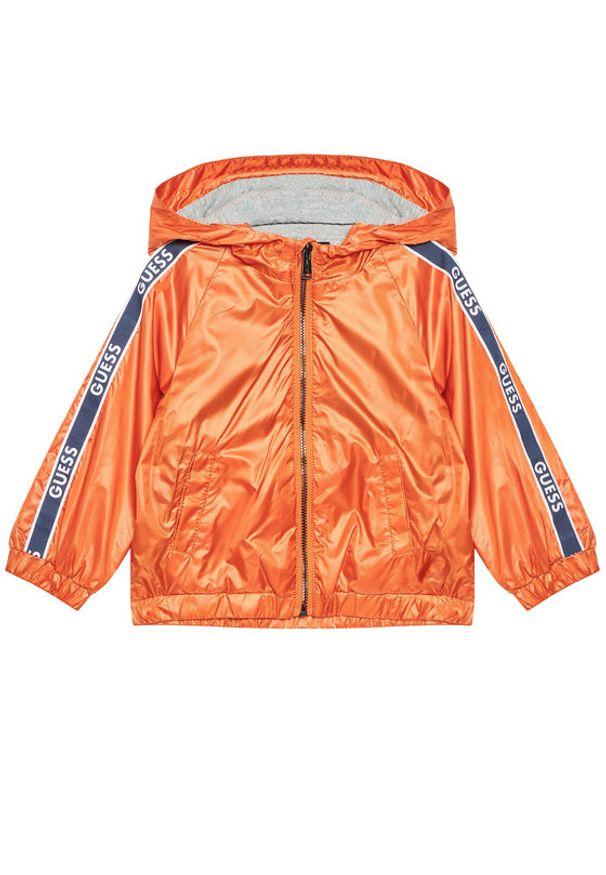 Guess Kurtka przejściowa 1RL00 WCMN0 Pomarańczowy Regular Fit. Kolor: pomarańczowy