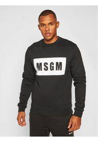 MSGM Bluza 2940MM68 207599 Czarny Regular Fit. Kolor: czarny