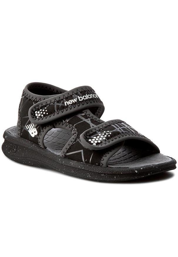 Czarne sandały New Balance