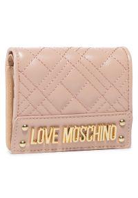 Różowy portfel Love Moschino