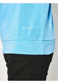 Marc O'Polo Bluza M21 4100 54004 Niebieski Regular Fit. Typ kołnierza: polo. Kolor: niebieski