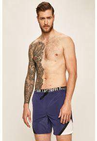 Niebieskie kąpielówki Karl Lagerfeld