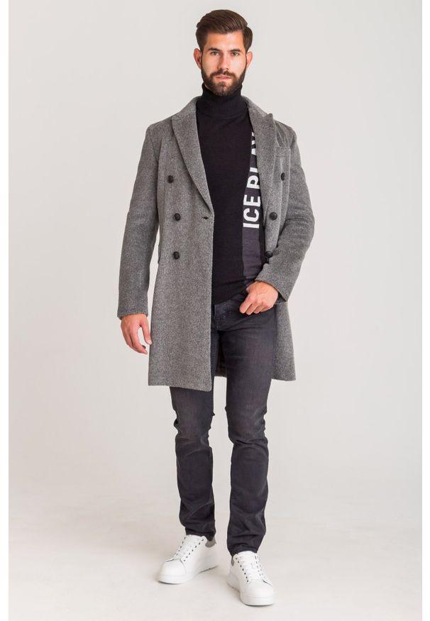 Płaszcz Emporio Armani w kolorowe wzory