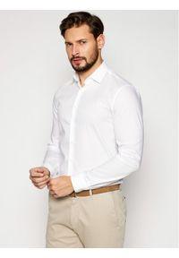 Biała koszula biznesowa Calvin Klein