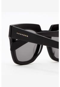 Hawkers - Okulary przeciwsłoneczne PAULA ECHEVARRIA BLACKMATTE. Kolor: czarny