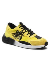 Guess Sneakersy Modena Active FM5MOA FAB12 Żółty. Kolor: żółty