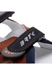 Brązowe sandały Bartek na lato, klasyczne