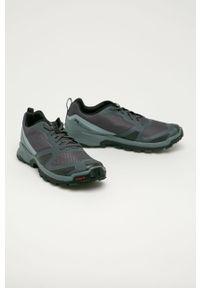 Buty trekkingowe salomon z cholewką, na sznurówki, z okrągłym noskiem
