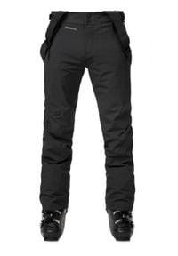 Rossignol - ROSSIGNOL Spodnie narciarskie męskie COURSE black. Sport: narciarstwo