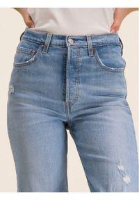 Levi's® Jeansy 72693-0035 Niebieski Regular Fit. Kolor: niebieski. Materiał: elastan, bawełna, jeans
