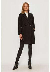 Czarny płaszcz only raglanowy rękaw, casualowy