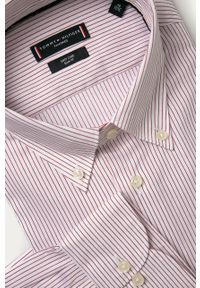 Wielokolorowa koszula Tommy Hilfiger Tailored długa, button down, elegancka