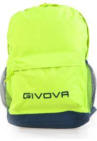Givova Plecak sportowy Zaino Scuola 21.7L żółty (G0514-0019). Kolor: żółty. Styl: sportowy