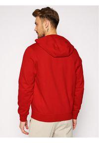 Lacoste Bluza SH1551 Czerwony Regular Fit. Kolor: czerwony