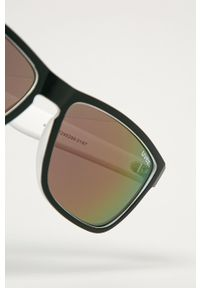 Uvex - Okulary przeciwsłoneczne LGL 39. Kształt: prostokątne. Kolor: biały
