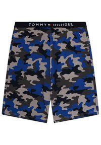 Brązowa piżama TOMMY HILFIGER z nadrukiem