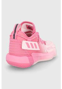 adidas Performance - Buty Dame 7 EXTPLY. Nosek buta: okrągły. Zapięcie: sznurówki. Kolor: różowy. Materiał: guma