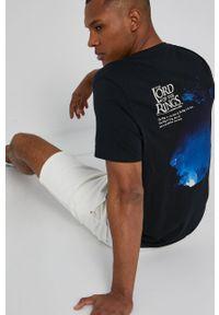 medicine - Medicine - T-shirt Licence Mix. Kolor: czarny. Materiał: bawełna, dzianina. Wzór: nadruk