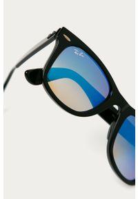 Czarne okulary przeciwsłoneczne Ray-Ban