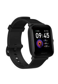 Czarny zegarek AMAZFIT smartwatch