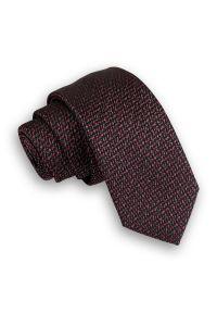 Szary krawat Angelo di Monti elegancki, melanż