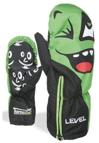 Level - LEVEL Rękawice dziecięce LUCKY MITT lime