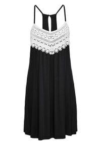 Sukienka letnia bonprix czarny. Kolor: czarny. Sezon: lato