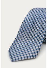 Niebieski krawat Calvin Klein