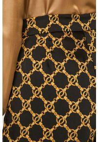 Czarne spodnie materiałowe TwinSet klasyczne