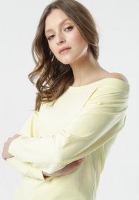 Born2be - Żółta Bluza Bessie. Kolor: żółty #5