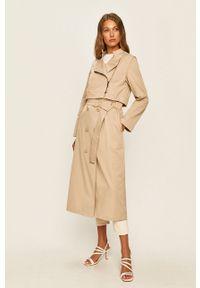 Beżowy płaszcz MAX&Co. bez kaptura