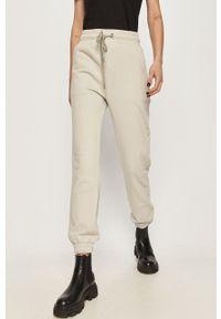 Białe spodnie dresowe Answear Lab