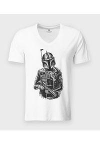 T-shirt v-neck MegaKoszulki klasyczny