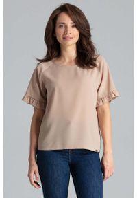 Beżowa bluzka Katrus