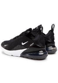 Czarne półbuty Nike casualowe, z cholewką, na co dzień