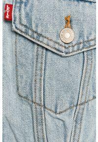 Niebieska kurtka Levi's® w kolorowe wzory, na spotkanie biznesowe