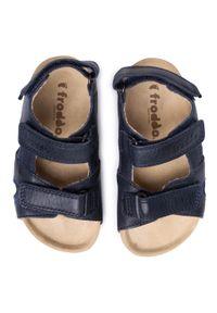 Niebieskie sandały Froddo na lato #7