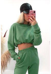 Zielona bluza IVET na co dzień, sportowa