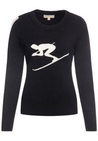 Czarny sweter klasyczny Michael Kors