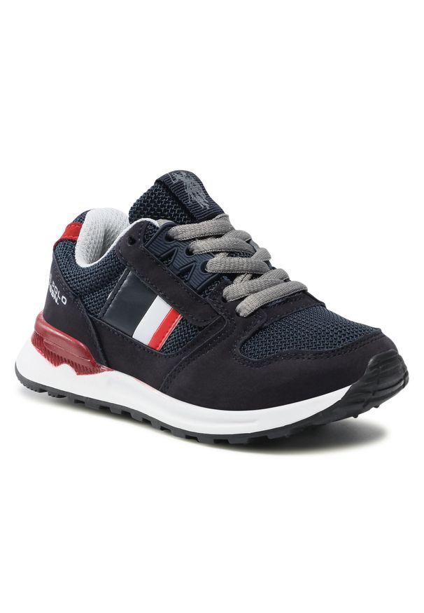 U.S. Polo Assn - Sneakersy U.S. POLO ASSN. - Joe JOE4097S1/HM1 Navy. Okazja: na co dzień. Kolor: niebieski. Materiał: skóra ekologiczna, materiał. Szerokość cholewki: normalna. Styl: casual